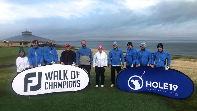 St Andrews plays host to the FootJoy Walk of… - bunkered.co.uk e50550fc382
