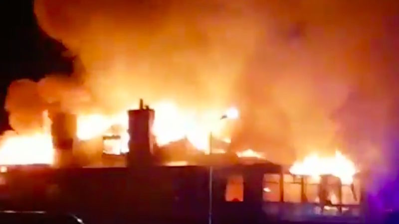 Machrihanish Clubhouse Fire