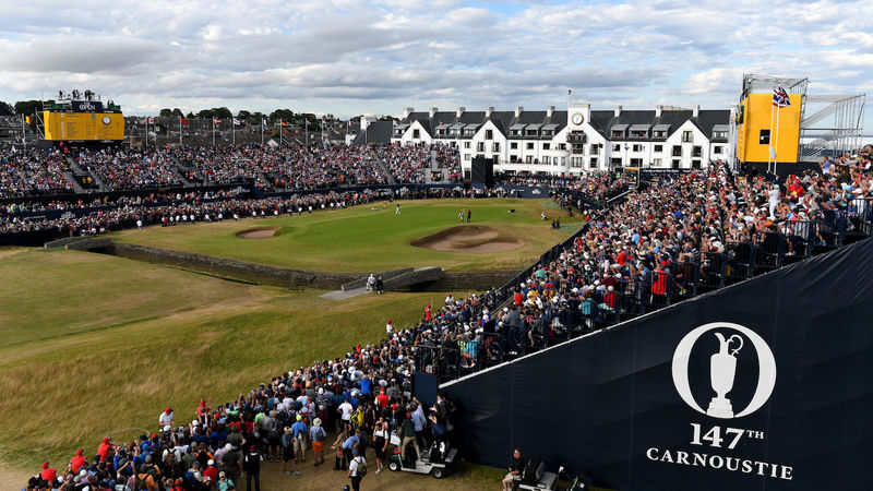 The 147Th Open At Carnoustie