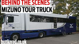 Inside the Mizuno Tour Truck