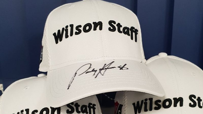 Padraig Harrington Signed Hat