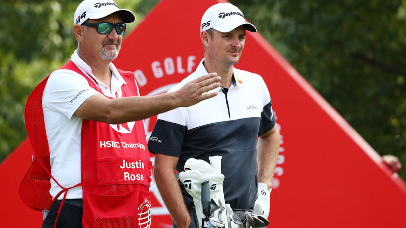 Justin Rose And Mark Fulcher