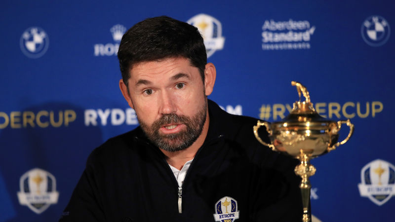 Padraig Harrington Ryder Cup Picks 1