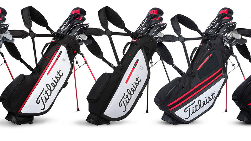 T1 85 Titleist Introduces New Players And Hybrid Golf Bag Collections