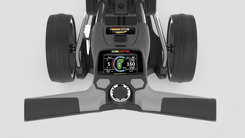 PowaKaddy launches Compact C2i GPS trolley - bunkered co uk