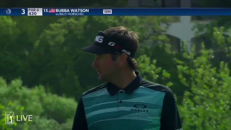Bubba Watson Argument With Fan
