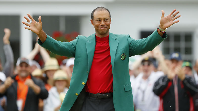 Tiger Woods Rankings Boost