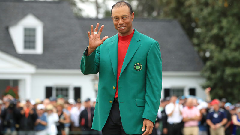 Tiger Woods Masters Champion 2019
