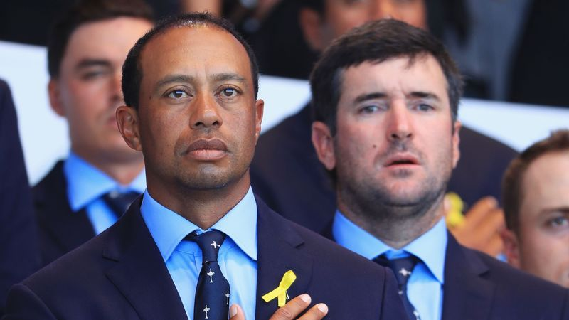Bubba Watson And Tiger Woods