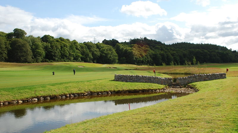Kings Course Wall Weir 3Rd Hole 070719