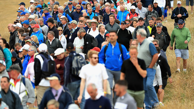 Scottish Golf Fans