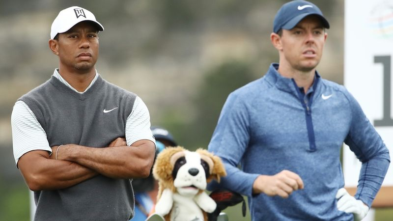 Tiger Woods And Rory Mc Ilroy
