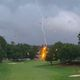 East Lake Lightning Strike