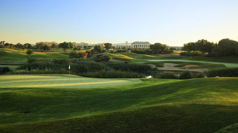 A View Overlooking The 12Th Hole At Dom Pedro Victoria Course