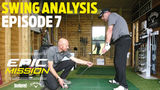FOUR GOLF LESSONS WITH STEVE JOHNSTON – BIG CHANGES! (Epic Mission EP 7)