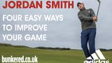 Four easy ways to improve your golf game with Jordan Smith