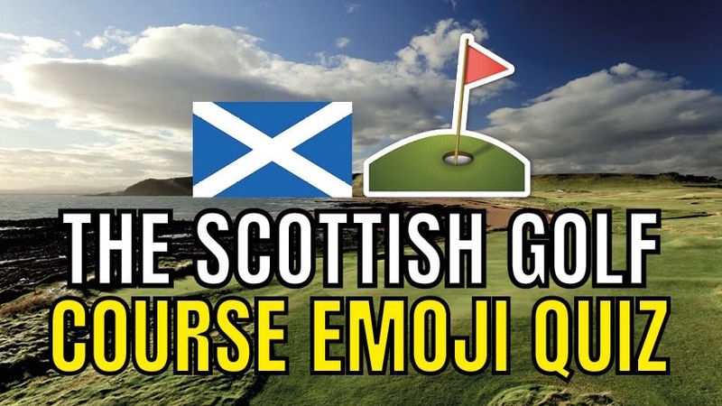 Scottish Golf Courses Emoji Quiz