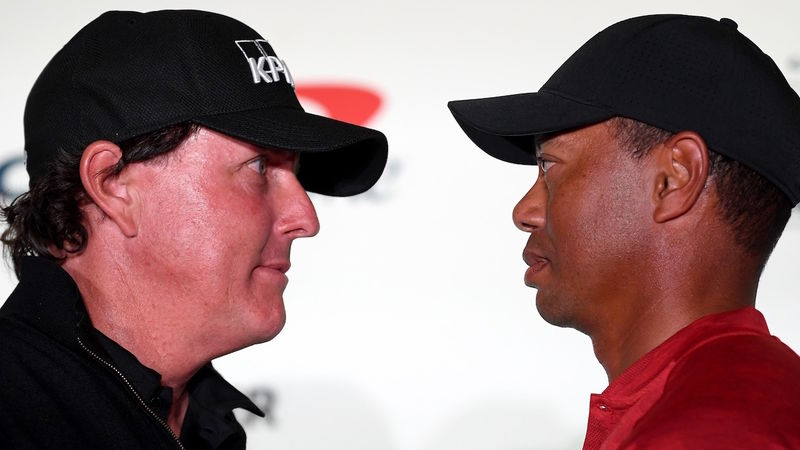Phil Mickelson Tiger Woods Re Match