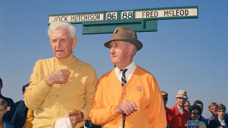 Fred Mc Leod And Jock Hutchison Main