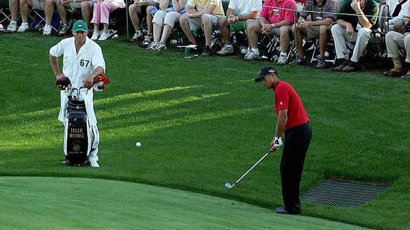 The Masters Tiger S Million Dollar Shot And The Bunkered Co Uk