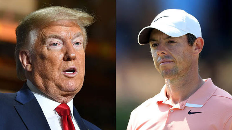 Rory Mc Ilroy Donald Trump