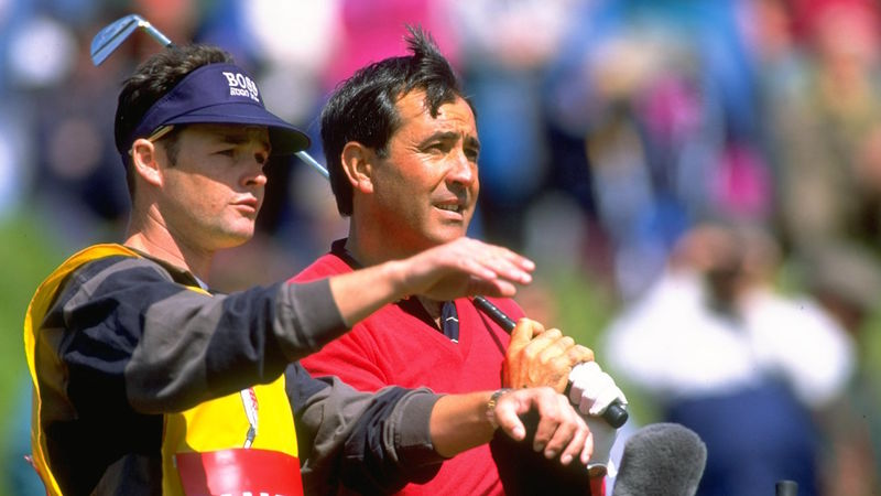 Seve Ballesteros And Billy Foster 1
