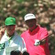 Seve Ballesteros And Billy Foster At The Masters