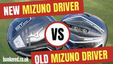 MIZUNO ST200 vs JPX850 - Can a five-year-old driver keep up with a brand new one?