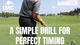 A simple drill for perfect timing | IMG Academy