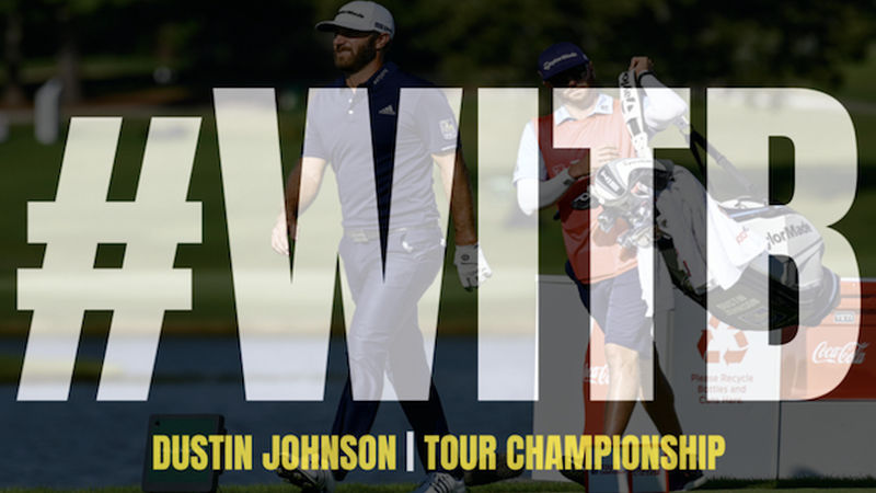 Dustin Johnson Fed Ex Witb