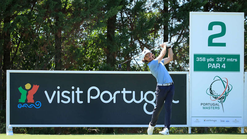 Tommy Fleetwood At The Portugal Masters