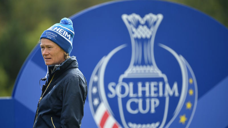 Catriona Matthew Solheim Cup Captain