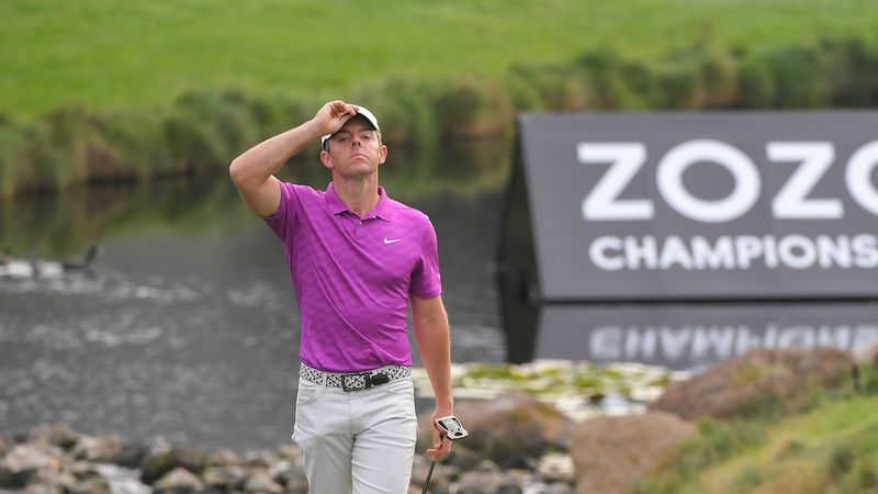 WATCH - Frustrated Rory McIlroy snaps club - bunkered.co.uk