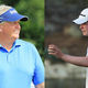 Colin Montgomerie And Robert Mac Intyre