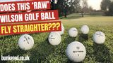 CAN AN UNPAINTED BALL HELP YOU PLAY BETTER??? - Wilson Staff Model golf balls review
