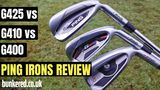 HAS PING MADE ITS BEST EVER GAME IMPROVEMENT IRON? - G425 vs G410 vs G400