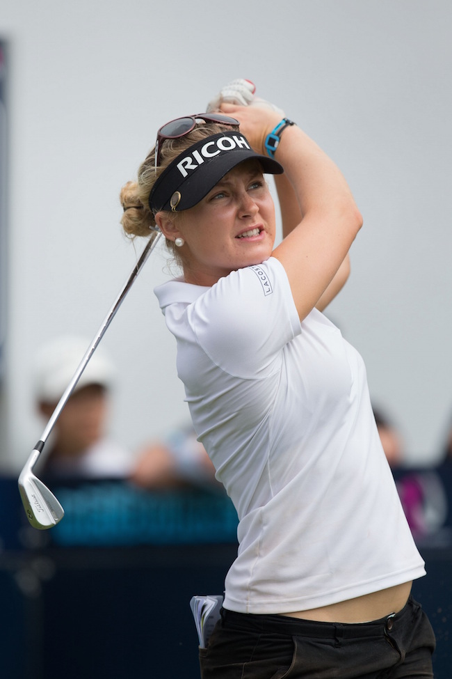 Charley Hull (GBR) GOLF - ISPS HANDA Women's Australian Open - LPGA World Tour - Royal Melbourne Golf Club - Melbourne - Victoria - Australia - 2015