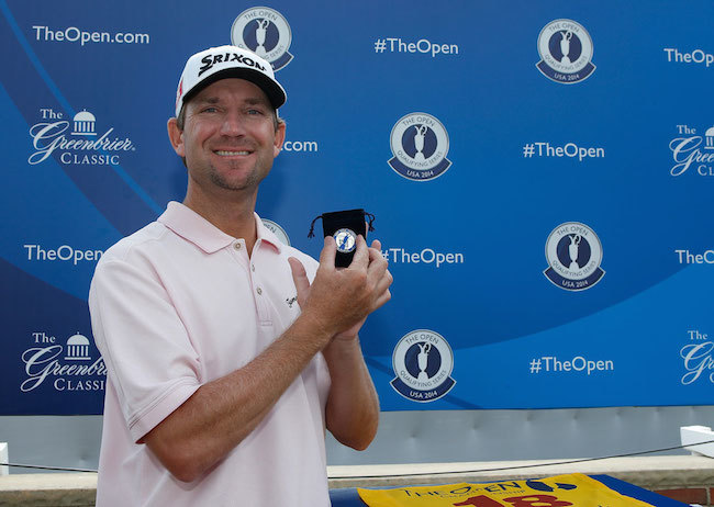 George McNeill qualifies for The Open Championship