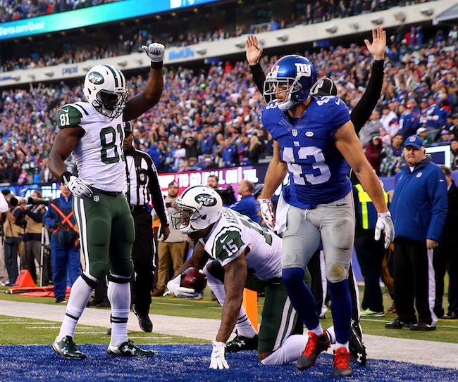 New York Jets v New York Giants
