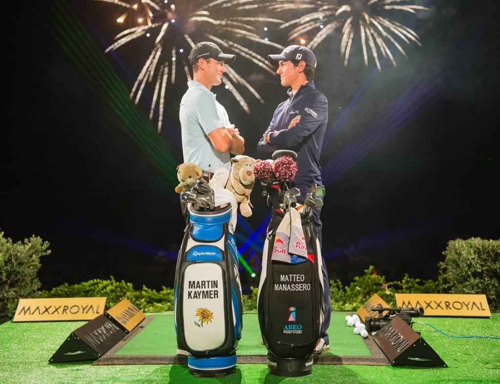 Kaymer and Manassero in Maxx Royal showdown