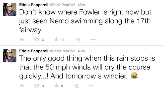 Pepperell tweets