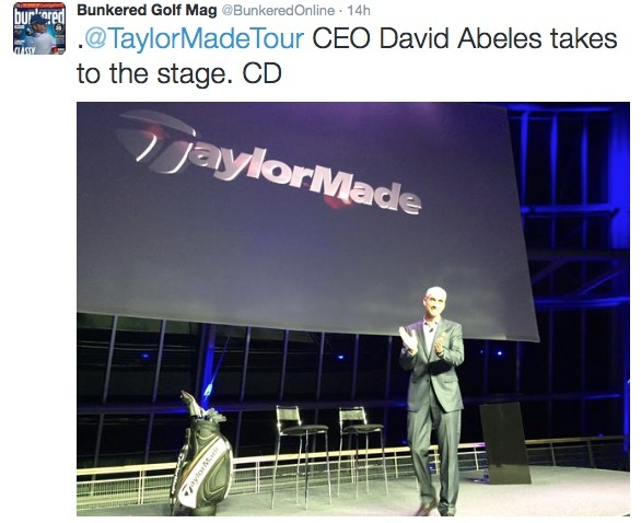 TaylorMade Social Media launch 1