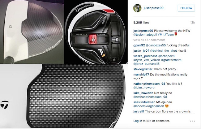 TaylorMade social media launch 2