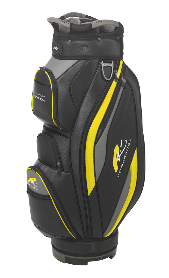 01 2019 Powa Kaddy Premium Black With Yellow Trim 2