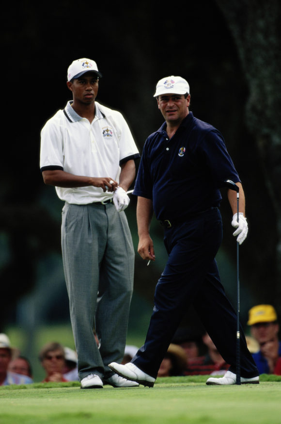 1997 Ryder Cup Costantino Rocca And Tiger Woods