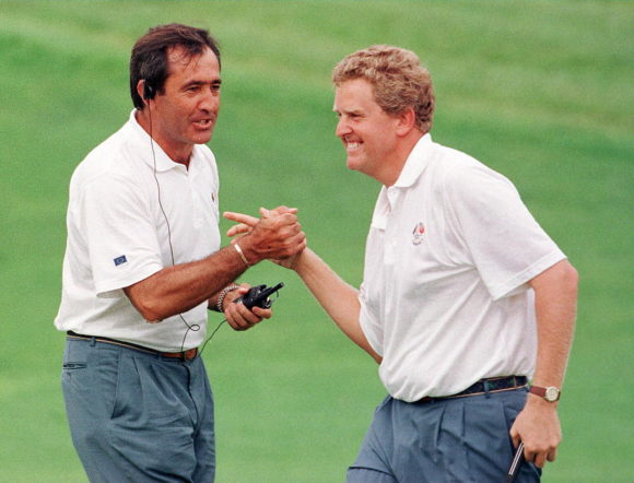 1997 Ryder Cup Seve Ballesteros And Colin Montgomerie