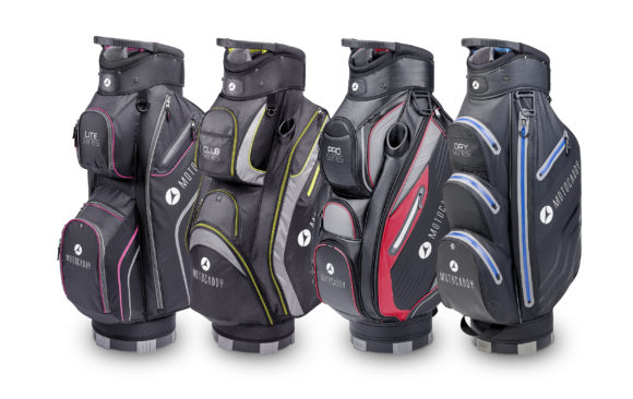 Motocaddy introduces 2018 cart bags