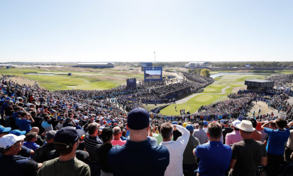 2018 Ryder Cup View From The First