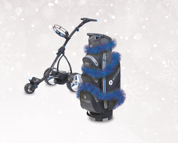 Motocaddy launches festive free bag promotion