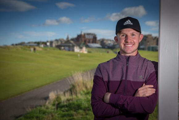 Connor Syme pens deal with adidas Golf